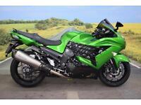 Kawasaki ZZR1400 **ABS, KTRC, Akrapovic Exhausts, Tinted Screen**