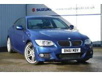 2011 BMW 3 Series 2.0 320i M Sport 2dr Petrol blue Manual