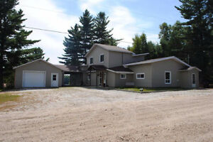 5 bedroom cottage with a 145.3 frontage on lake Fiske