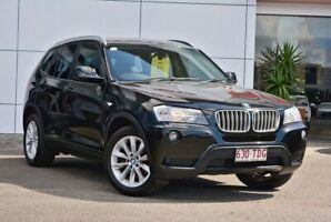 BMW X3 black on black