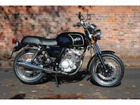AJS Tempest 125 125cc learner legal black full warranty