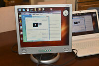 """Hansol 17"""" Computer Monitor with built-in Speakers"""