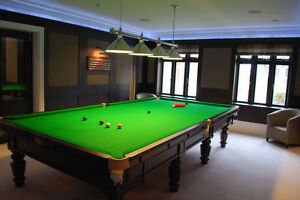 We Buy & Sell Snooker Tables All Over BC
