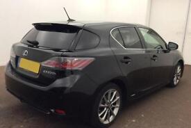 Lexus CT 200h 1.8 ( 134bhp ) CVT 2013MY Advance FROM £57 PER WEEK !