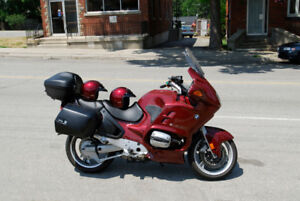 Red BMW Touring Motorcycle - R1100RT