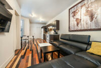 Brilliant 2BR in The Plateau Mont-Royal +Parking - Available Now
