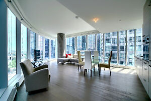 Luxurious one bedroom condo for rent downtown Montreal!