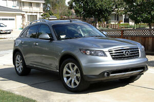 2006 Infiniti FX45 With Navigation and DVD