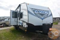 2015 Impact by Fuzion 303 Toy Hauler