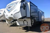 2015 Impact by Fuzion 386 Toy Hauler