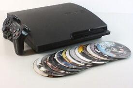 Sony Playstation 3 PS3 160gb Slim + 21 Games