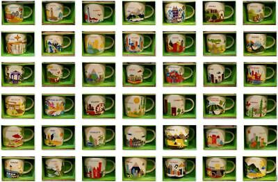 U PICK- Starbucks Mug YOU ARE HERE YAH Collector Series Mugs A-D 14oz new w/SKU