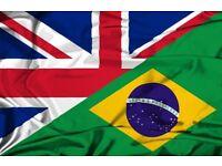 Aulas de inglês para Brasileiros