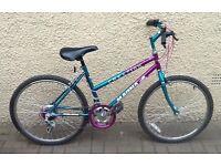 "Bike/Bicycle.GIRLS MAGNA "" CREATION "" MOUNTAIN BIKE. SUIT 9-12 YEARS"