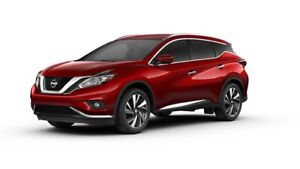 Nissan Murano Platinum AWD 2017.5 SUV Red Finance Takeover