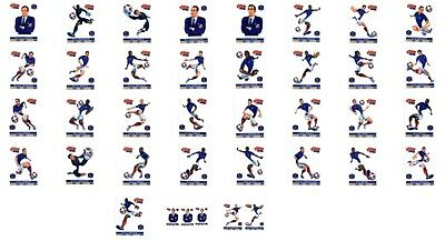 ♥ Pitch Team Cartes Collection Sport Equipe De France De Football 2012 ♥