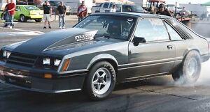 Mustang GT Drag / Pro Street car