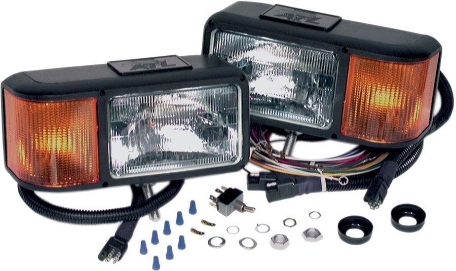 Snow Plow Light Lenses : Buying snow plow lights on ebay