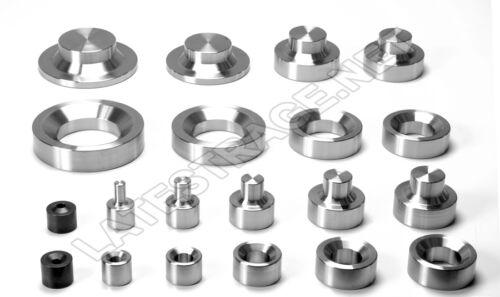 Dimple Die Tool set Complete dzus,0.5,0.75,1.0,1.25,1.5,1.75,2.0,2.5,3.0 Fab Car