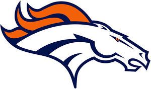 Denver Broncos NFL Color Die-Cut Decal / Car Sticker *Free Shipping