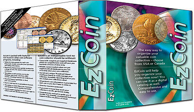 Coin Inventory Software: EzCoin CANADA 2018 + Images, Values for All Coins, Sets