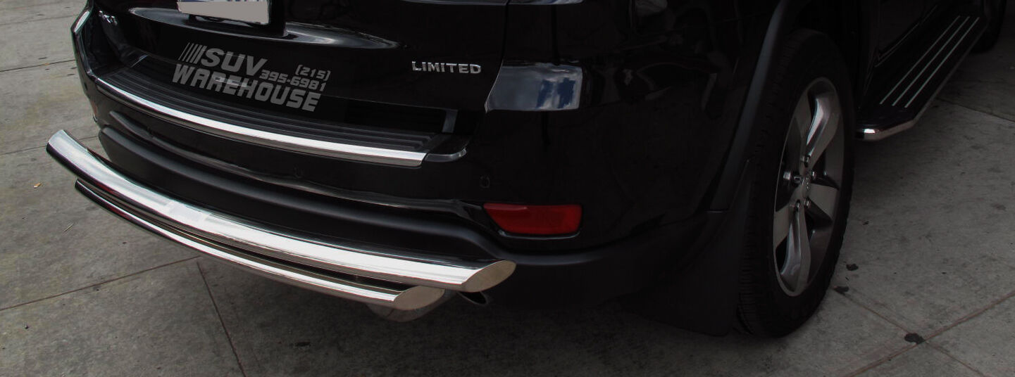 Aluminum Running Board Nerf Bars Side Steps Fits Jeep Cherokee