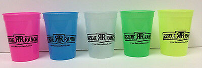 RESCUE RANCH COLOR CHANGING 12 OZ. PLASTIC CUP CHOICE OF COLOR (Plastic Color Changing Cups)