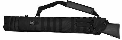 - Black Rifle Scabbard Gun Holster Case Horse ATV Motorcycle Hunting