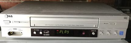 LG GC480 VCR Video Cassette Recorder VHS Player