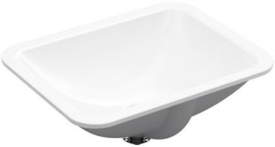 15 in. x 20 in. Bathroom Sink Under Mount Rectangle with Ove