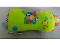 Baby tummy time activity roll toy