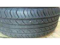 205 55 16 part worn Honda civic tyres wheels