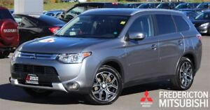 2015 Mitsubishi Outlander GT! LEATHER! SUNROOF! WARRANTY TO 2025