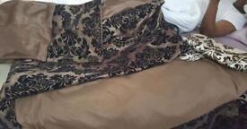 Double bed Damask bedding set
