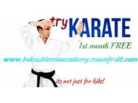 Traditional karate classes in Glasgow's south side