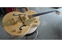 Gretsch 6120AM Amber Maple unplayed condition guitar 2011 ex -music shop unsold stock