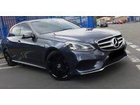 2014 - Mercedes E250 AMG SPORT 19 inch Black AMG Alloys AUTO 27,000 MILES - Excellent Condition