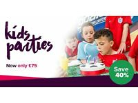 FANTSTIC OFFER! KIDS FOOTBALL PARTY AT GOALS STAR CITY FOR JUST £75