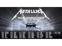 METALLICA BIRMINGHAM 30/10/17 2 Standing Tickets at cost price of £192.86