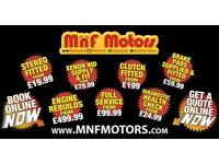 MnF Motors - Auto Car Mechanical & Electrical repairs DPF
