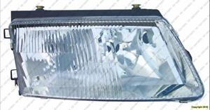 Head Light Passenger Side With Bulb (Old Style) High Quality Volkswagen Passat 1998-2001