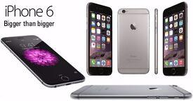 SIM Free Apple iPhone 6 Smart Phone - Black - 64GB - Apple Warranty