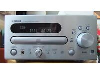 Yahama CRX-D430 CD/Radio FM/AM/DAB Micro Station 32 Pin iPod Dock 2x25W Speakers, Great Sound, Cool