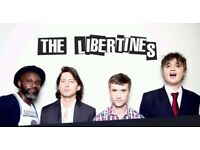 2 tickets to The Libertines