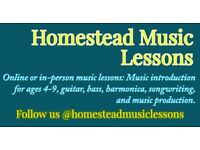 Guitar, Bass, or Harmonica Lessons - First Lesson Free