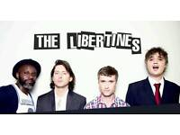 2 tickets for The Libertines, Kilmarnock Grand Hall on 19th September