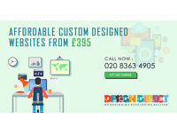 Affordable and Bespoke Website Design from £395