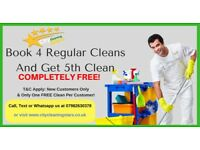 City Cleaning Stars Available In Medway kent Area.