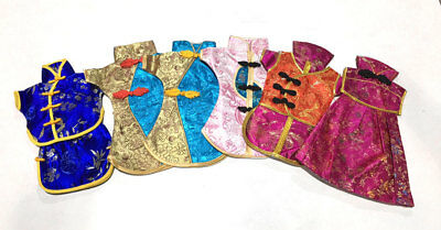 Wholesale! Oriental Wine Bottle Cover Wine Skirt Silk Party Decor (Oriental Decorations)