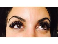 Eyelash extensions - offering silk, mink & Russian / volume - trained with AH FRANCIS